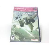 Jogo Playstation Two (2) - Ace Combat 5 Original Completo
