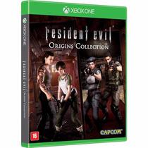 Jogo Novo Lacrado Resident Evil Origins Collection Xbox One