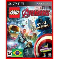 Lego Marvels Avengers Ps3 Cod Psn Em Pt-br Envio Imediato