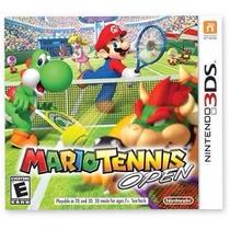 Mario Tennis Open -- 3ds