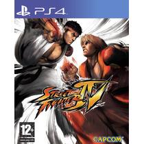 Ultra Street Fighter Iv Ps4 Primaria (conta Psn)!