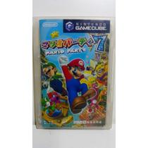 Jogo Gamecube Mario Party 7 Japonês Original Nintendo
