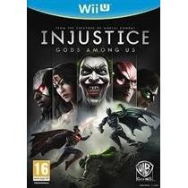 Injustice Gods Among Us Wii U Português Midia Fisica