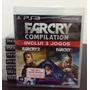 Farcry Compilation Ps3 Novo E Lacrado Rcr Games