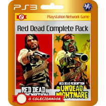 Red Dead Redemption + Undead Nightmare! (códigos Ps3)