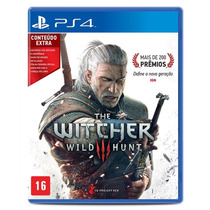 The Witcher 3 Ps4 Portugues Br Midia Fisica Box Especial Dlc