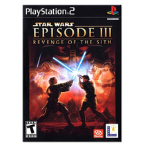 Star Wars Episodio 3, Revenge Of The Sith. ! Jogos Ps2