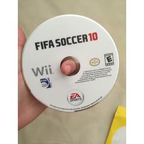 Fifa Soccer 10 Jogo Wii Usado Original
