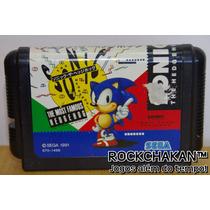 Sonic The Hedgehog - Exclusivo Para Sega Mega Drive Japonês