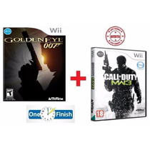 Goldeneye 007 Wii + Call Of Duty Mw3 Originais Lacrado - Wii
