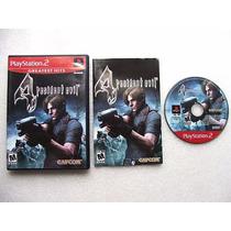 Play 2: Resident Evil 4 Americano Completo!! Jogaço!! Raro!!
