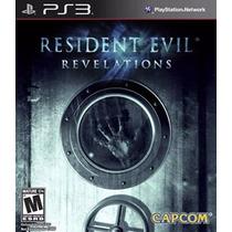 Resident Evil Revelations Jogo Ps3 Original Lacrado