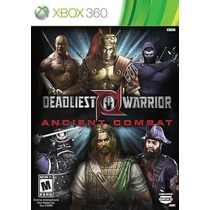 Game Xbox360 Deadliest Warrior: Ancient Combat