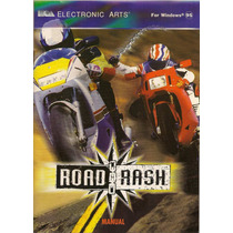 Road Rash - P C/ Windows 95 Original!