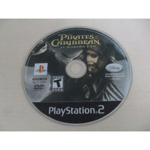 Piratas Do Caribe No Fim Do Mundo Ps2 Original Americano