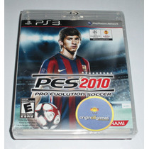 Pes 2010 Pro Evolution Soccer | Futebol | Ps3 | Original