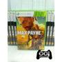 Max Payne 3 - Leg Em Português - Xbox 360 - Novo - Lacrado