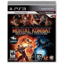 Game Ps3 Jogo Mortal Kombat Komplete Edi