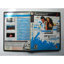 Jogo Singstar Pop Ps2 Original Seminovo Playstation 2