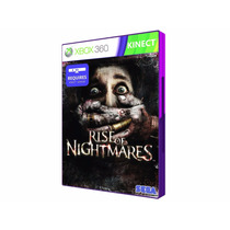 Rise Of Nightmares - Xbox 360 - Lacrado - Original