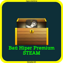 Baú Hiper Premium Steam - Jogos Aleatórios Steam Key Pc Game