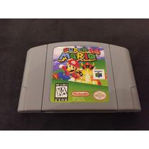 Jogo Nintendo 64 Super Mario 64 N64 Original Salvando