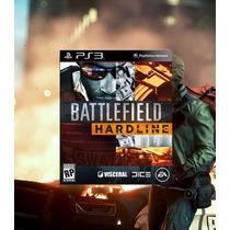 Battlefield Hardline Ps3 Código Psn Envio Imediato