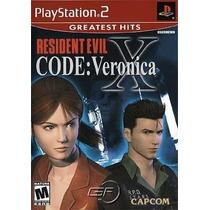 Resident Evil Code Veronica X Ps2 Patch Com Capa E Impressão