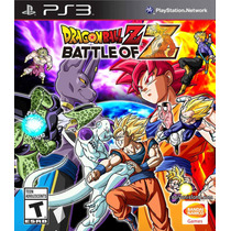Jogo Dragon Ball Z Battle Of Z Ps3 Midia Fisica Lacrado Nf