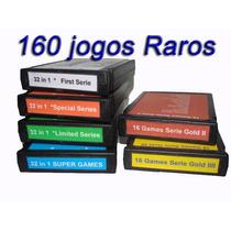 Lote 6 Fitas Para Atari 2600 Os Melhores160 Jogos