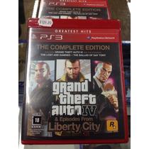 Gta Iv 4 Ps3 Complete Edition Ps3 Lacrado !!