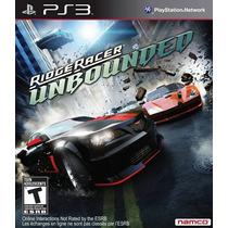 Ridge Racer: Unbounded - [ps3] Lacrado