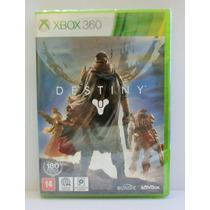 Jogo Destiny Xbox 360 Novo Lacrado Midia Fisica Português