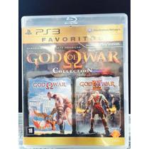Jogo God Of War Collection Playsation 3, Original, Novo