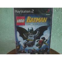 Lego Batman Ps2 Original,novo,lacrado,pronta Entrega!