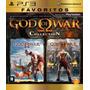 God Of War Collection 1 E 2 - Ps3 Original Novo Lacrado