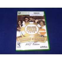 Jogo Xbox 360 - World Series Poker 2007