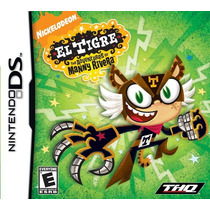 El Tigre The Adventures Of Manny Rivera Nintendo Ds Original