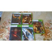 Pacote 5 Jogos Xbox 360 Usados