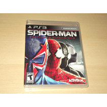 Ps3 - Spiderman Shattered Dimensions (americano)