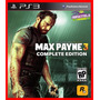 Max Payne 3 Complete Edition Ps3 Psn Portugues Br Promocao