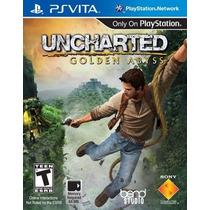 Uncharted Golden Abyss Psvita Com Frete Grátis Ps Vita Sony