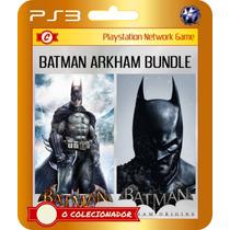 Promoção! Batman Arkham Origins + Arkham Asylum (código Ps3)