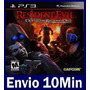 Resident Evil Operation Raccoon City Ps3 Código Psn