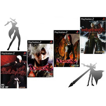 Kit 4 Games Devil May Cry Ps2 Patch - Frete Único