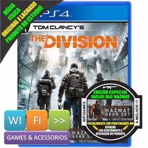 Tom Clancys The Division Ps4 Limited Edition Pt Br Lacrado