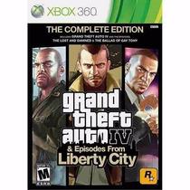 Gta - Grand Theft Auto Iv Complete Edition Xbox 360