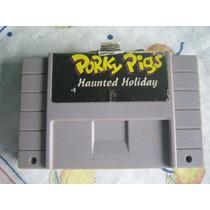 Porky Pigs Haunted Holiday Alternativo P/ Super Nintendo