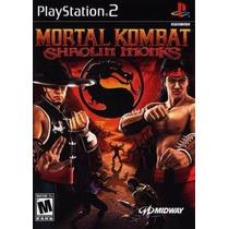 Mortal Kombat Shaolin Monks Ps2 Patch - Promoção!!!