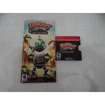 Ratchet Clank Size Matters - Psp - Completo!